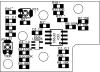 Монтажный чертеж платы SO-Cl-M v 1.6 вид сверху