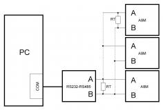 Блок схема электрических соединений